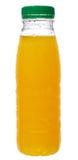 Bottle with orange juice Royalty Free Stock Photos