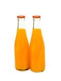 Bottle of orange juice. Royalty Free Stock Image