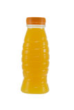 Bottle of orange juice Royalty Free Stock Photo