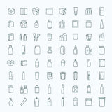 Bottle, packaging collection - vector Stock Photography