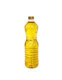 Bottle of Palm kernel Cooking Oil, isolated on white Stock Image
