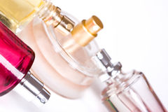 Bottle of parfum Royalty Free Stock Image