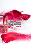 Bottle of parfum Royalty Free Stock Photography