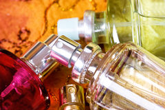 Bottle of parfum Stock Photos