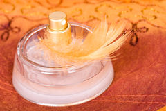 Bottle of parfum Royalty Free Stock Images