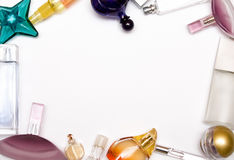 Bottle of parfum Royalty Free Stock Photo