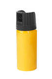 Bottle of pepper spray Stock Photography