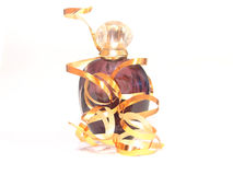 Bottle of perfum Royalty Free Stock Photos