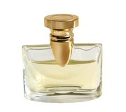 Bottle of perfume. Isolated on the white background Royalty Free Stock Photos