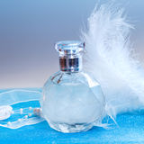 Bottle of perfume Stock Photos