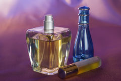 Bottle of perfume Stock Image