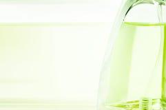 Bottle of perfume  background Stock Photo