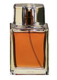 Bottle of perfume isolated Royalty Free Stock Image