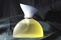 Bottle of perfume isolated Royalty Free Stock Photos