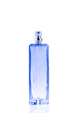 Bottle of perfume isolated on white Stock Photos