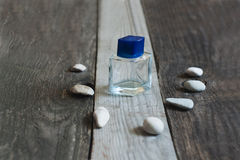 Bottle of perfume Stock Photos
