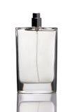 Bottle of perfume on white  background Stock Photo