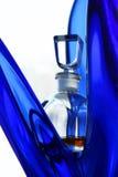 Bottle with perfumery Royalty Free Stock Image
