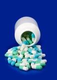 Bottle pill Stock Image
