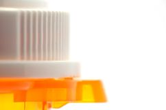 Pill Bottle top Royalty Free Stock Photography