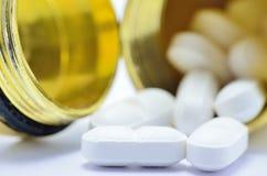 Pills Macro Stock Photo