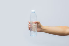 Bottle. Plastic water trash recycle Royalty Free Stock Image