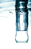 Bottle with pure water. Royalty Free Stock Image