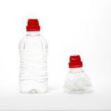 Bottle recycling Royalty Free Stock Photos