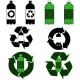 Bottle recycling Stock Image