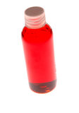 Bottle with Red Liquid Royalty Free Stock Photography