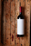 Bottle of red wine Royalty Free Stock Photography