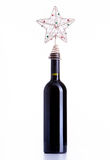 Bottle red wine Royalty Free Stock Photos