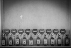 Bottle Repetition Stock Images