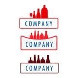 Bottle. Restaurant, drink, bar, cafe, entertainment, fresh, dinner, soft drinks, refreshing Royalty Free Stock Images