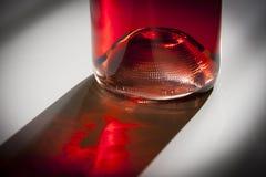 Bottle of rosé wine Stock Images
