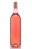 Bottle of Rose Wine Royalty Free Stock Photos