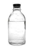 Bottle with saline Royalty Free Stock Image