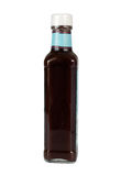 Bottle with sauce Stock Image