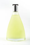 Bottle of scent. On white background stock photography