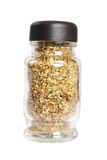 Bottle with seasonings Stock Images