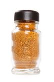 Bottle with seasonings Stock Image