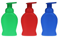 Liquid soap Stock Images