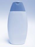 Bottle of shampoo. A plastic bottle of shampoo without any label Royalty Free Stock Photo