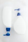 Bottle of shampoo Stock Photography