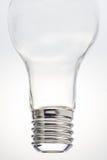Bottle shaped like a lamp. Stock Photo