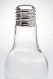 Bottle shaped like a lamp. Stock Image