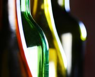 Bottle shapes Royalty Free Stock Photography