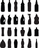 Bottle silhouette  Royalty Free Stock Photo