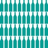Bottle silhouette Stock Image