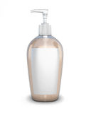 Bottle with soap Stock Photo